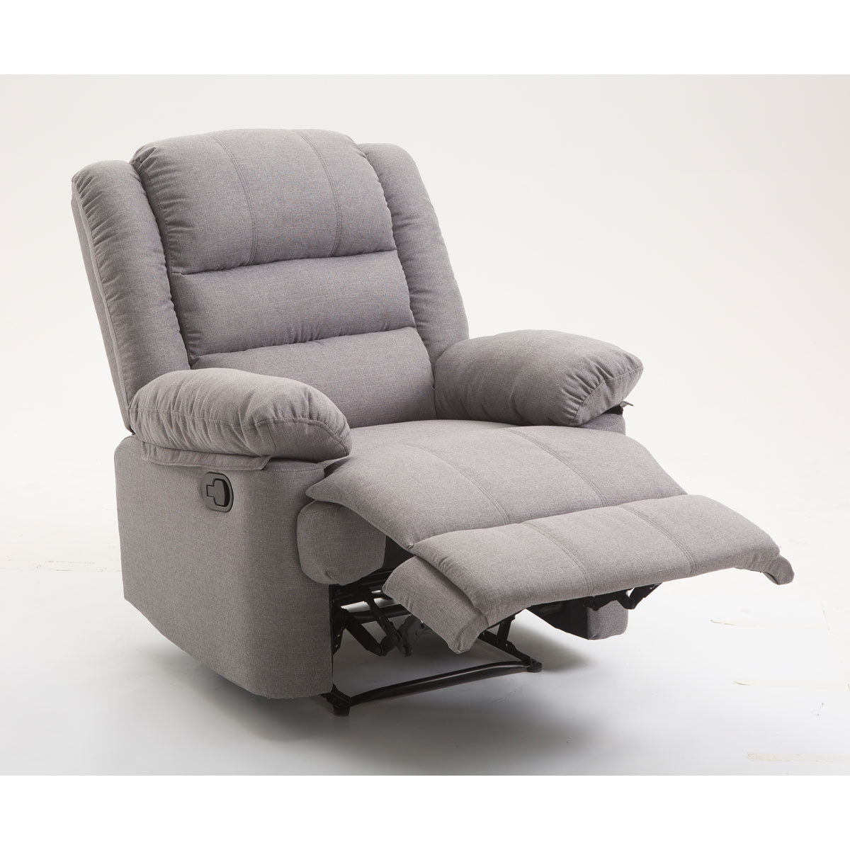 Fauteuil 1 place inclinable BORA gris