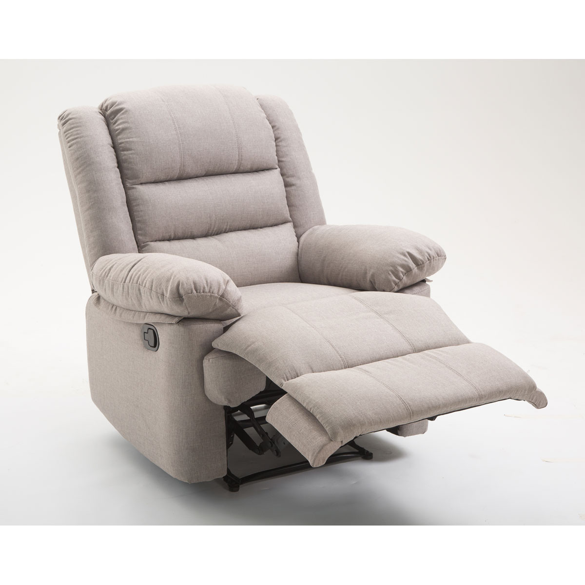 Fauteuil 1 place inclinable BORA beige