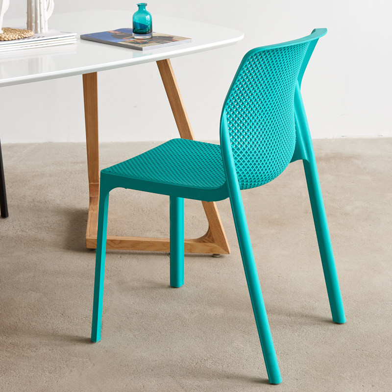 Chaise de salle a manger SIDNEY turquoise