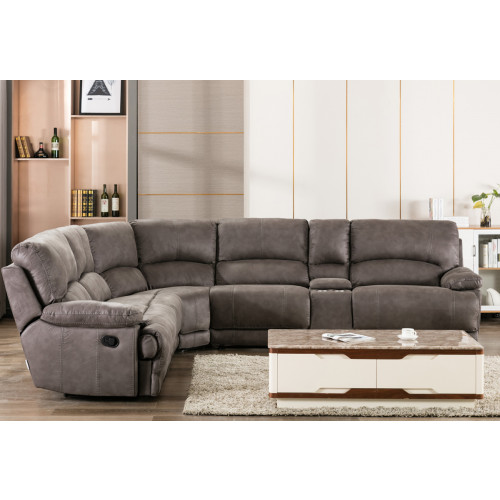 Canape d'angle recliner HES
