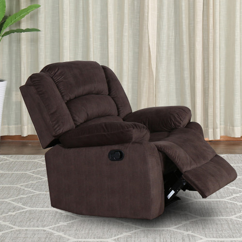 Fauteuil inclinable FIRENZA marron