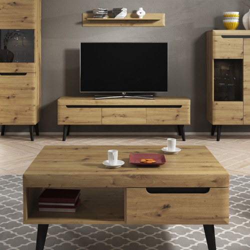 Lot de table basse + meuble tv 1.6 m ARTIS